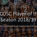 OSC Player of the Season  2018/19 Closing Soon!