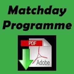 Matchday Programme vs Vospers OV 27/02/2016
