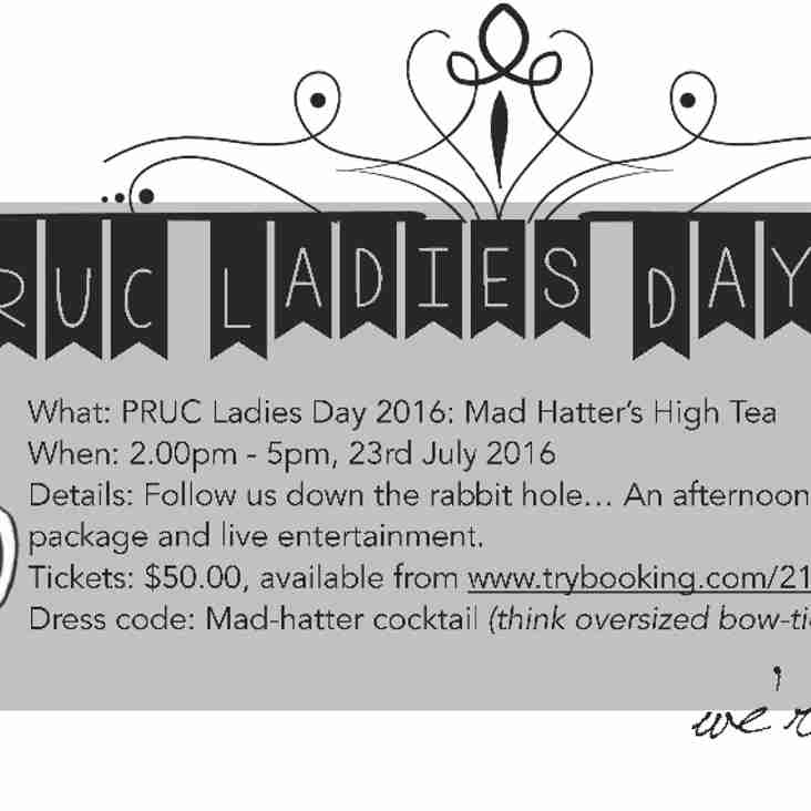 PRUC Ladies Day 2016