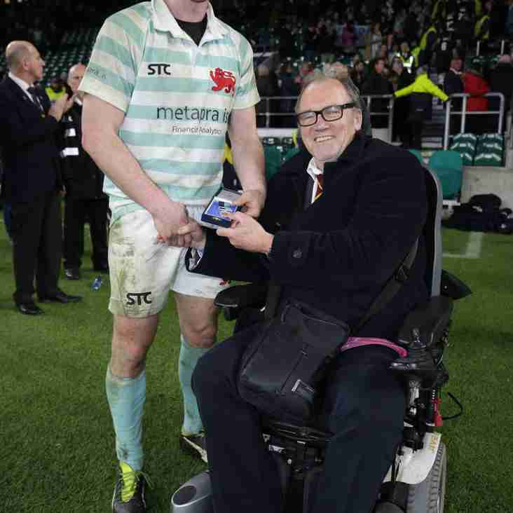Former Player excels at Twickenham