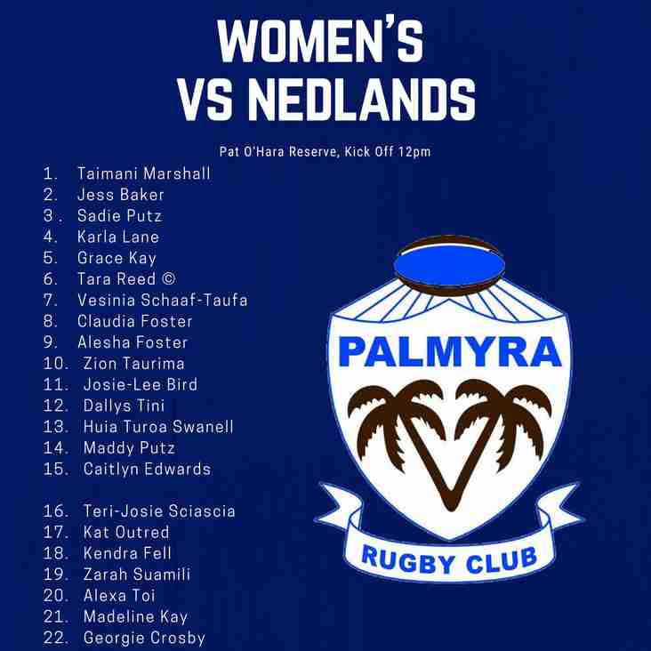 Women's Side named for Grand Final