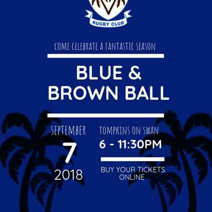 Blue & Brown Ball