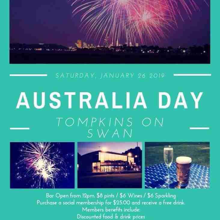 Australia Day @ The Oasis