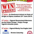 Fundraising Raffle for our 7's & 10's Programs
