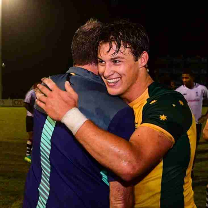 Michael McDonald leads Junior Wallabies to victory