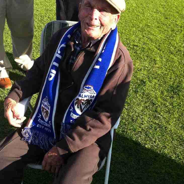 Pally honour Charles 'Dempsey' Matsen