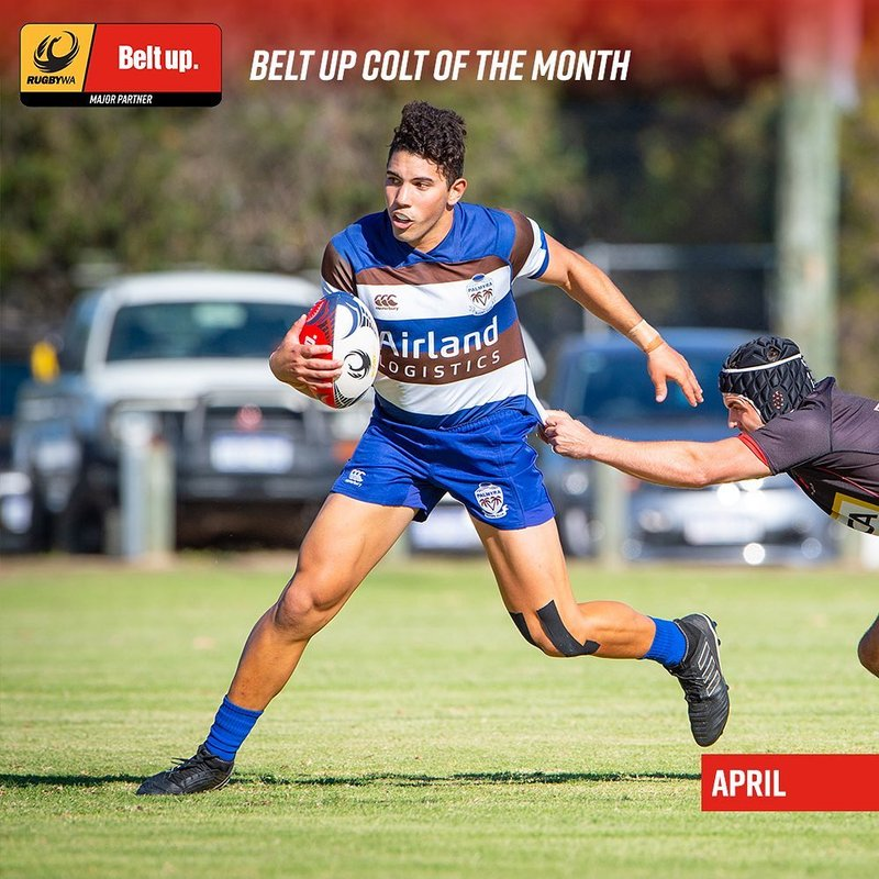 Marcus Arrindell named Colt of the Month