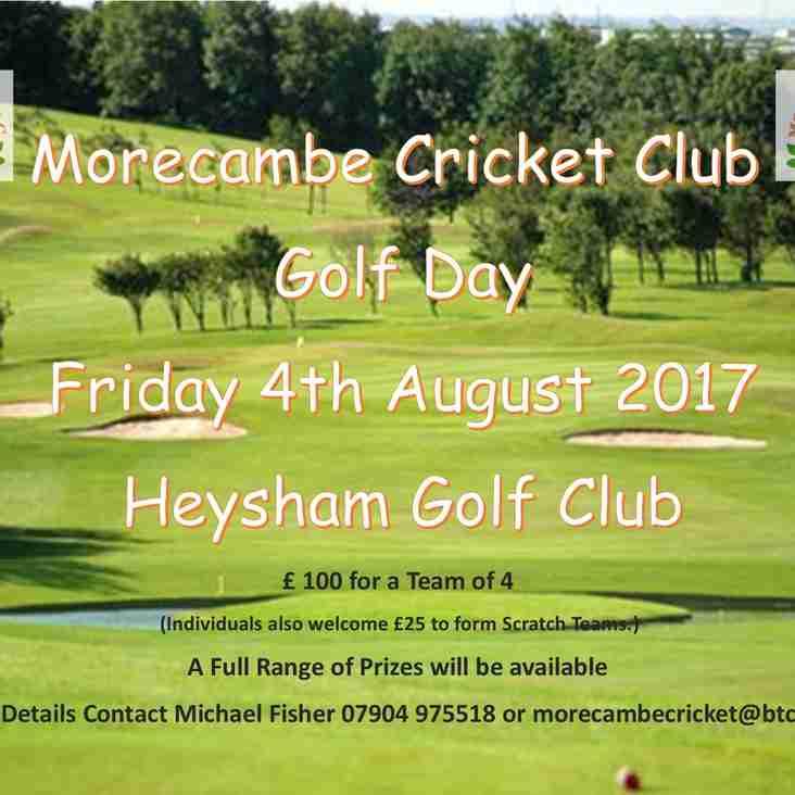 Morecambe CC Golf Day - 2017