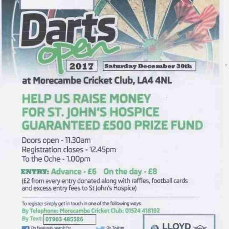 Darts Open 2017 - Sat 30th December