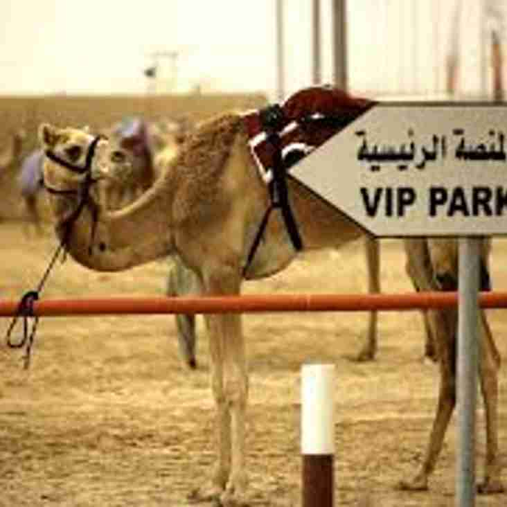Camel Race Night - Friday 9th November