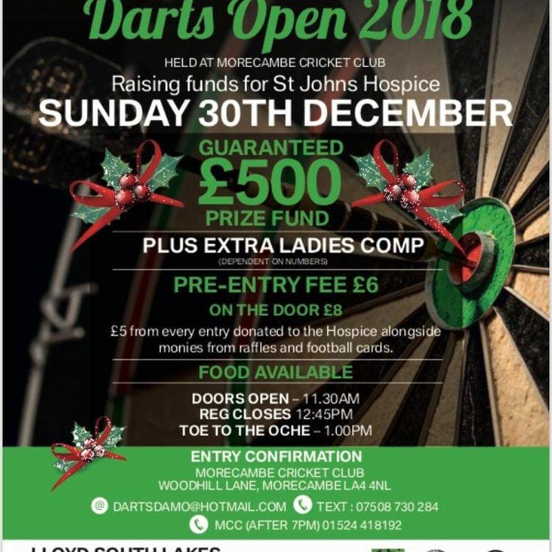 Lloyd South Lakes MCC Darts Open