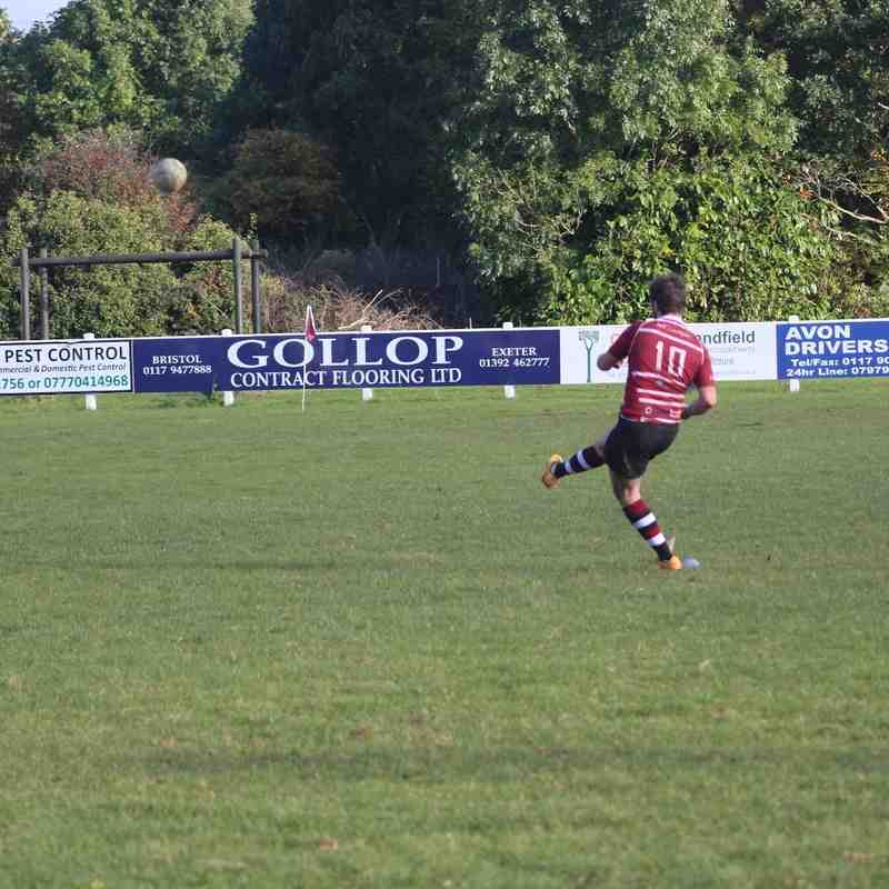 Cleve United vs Cinderford 3's 22/10/16