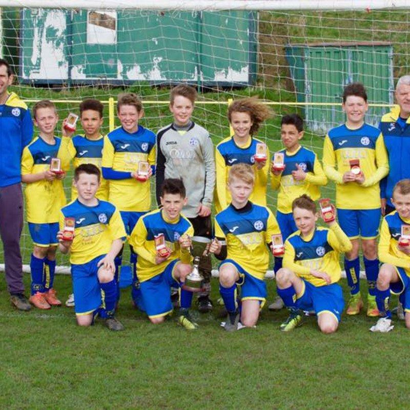 Cup win for Garforth Villa U11s
