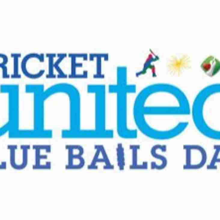 Blue Bails Day – Saturday 29 July – sign up now!