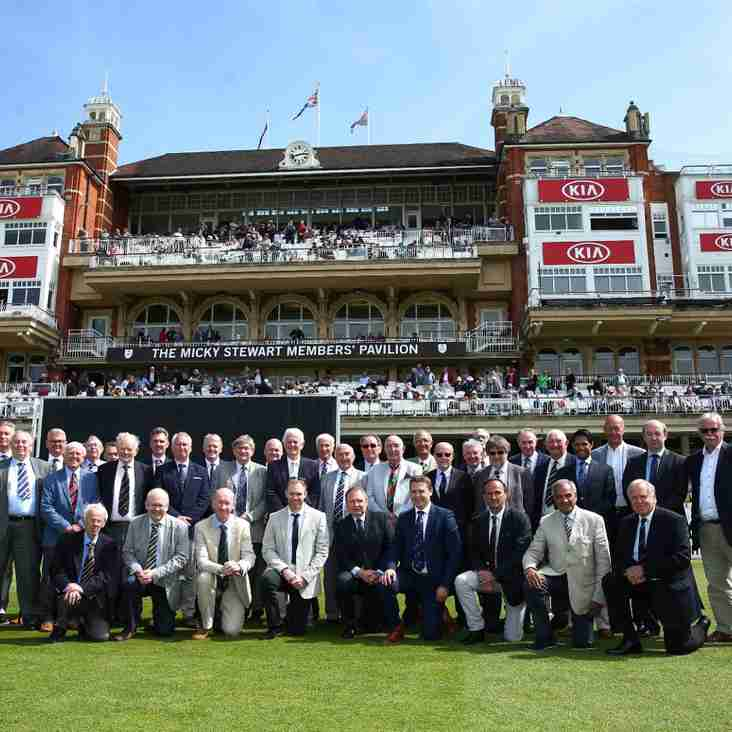 Surrey host Capped Players Day