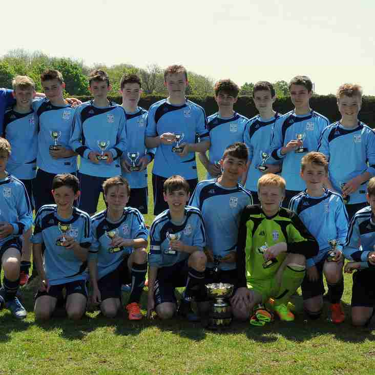 Bloxham FC - Witney & District U14 KO Cup Champions 2016/2017