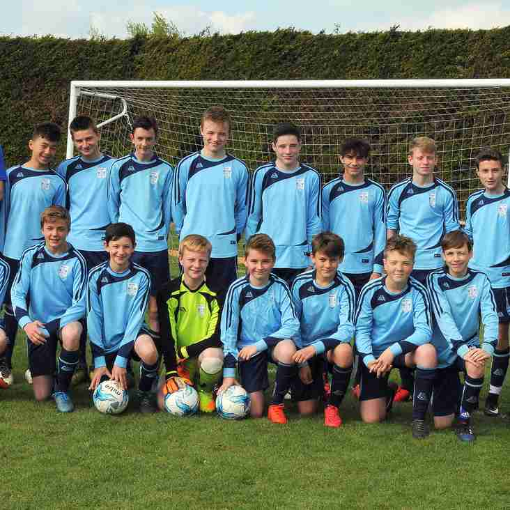 Bloxham FC U14 - Witney & District A League League 2016/2017 Winners!!