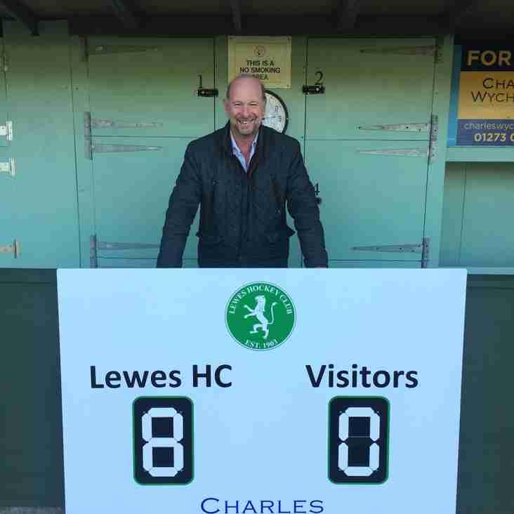 Our new sponsor - Charles Wycherley