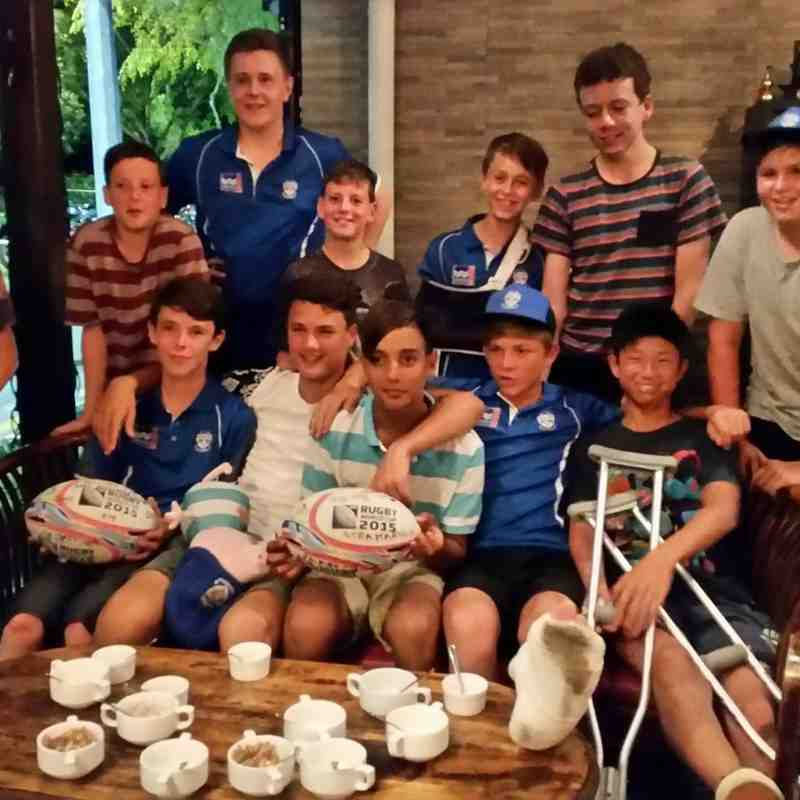 u13's Tour of Singapore - Centaurs International Youth Rugby Tournament