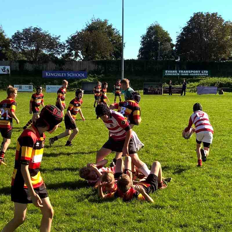 U13s v Bideford - Sun  2 Oct 2016