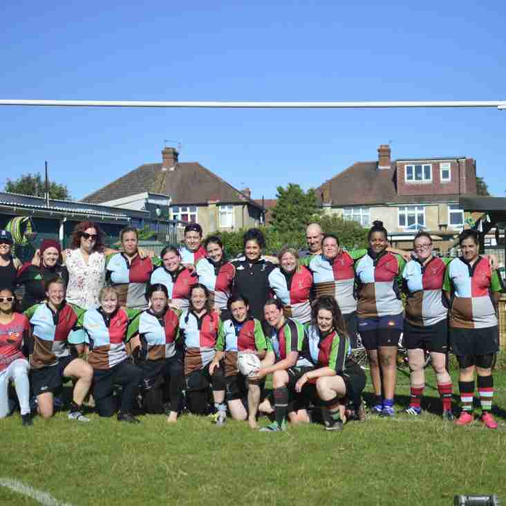 Harlequin Ladies start the season with a BANG!