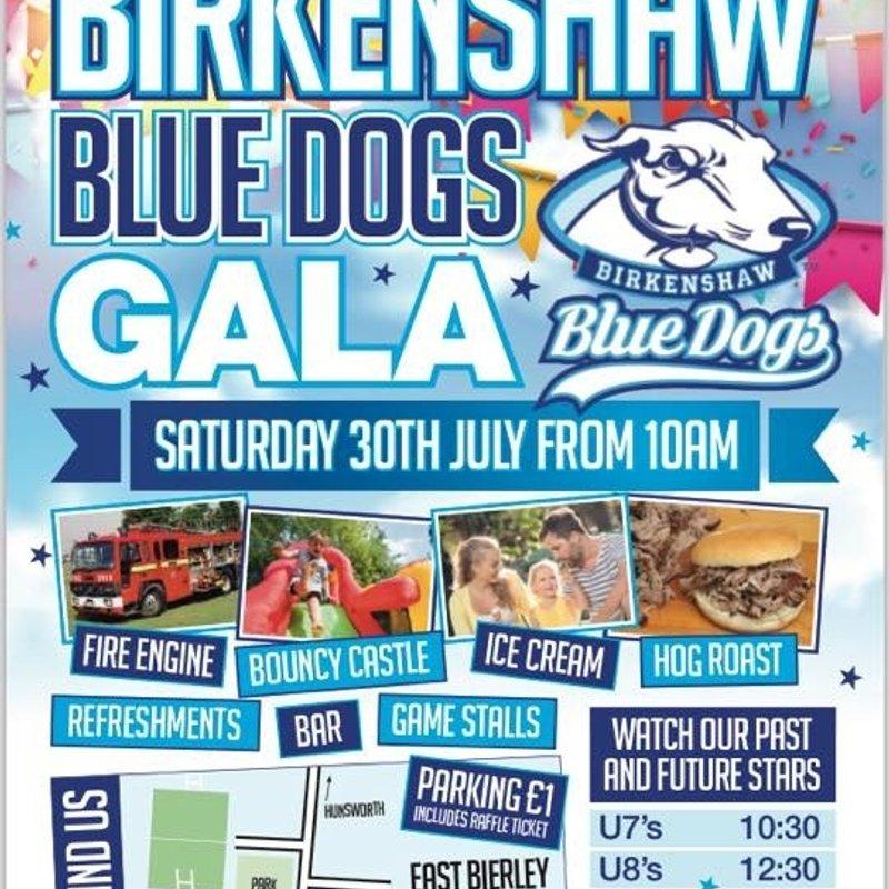 Birkenshaw Blue dogs gala day