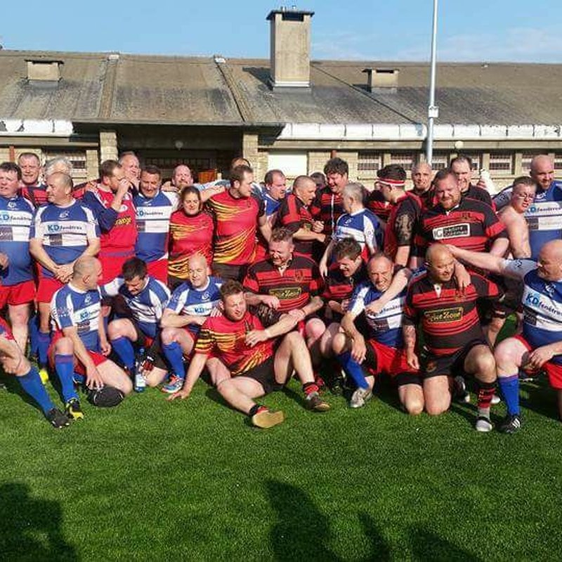 Les Arlequins Vets to WRFC