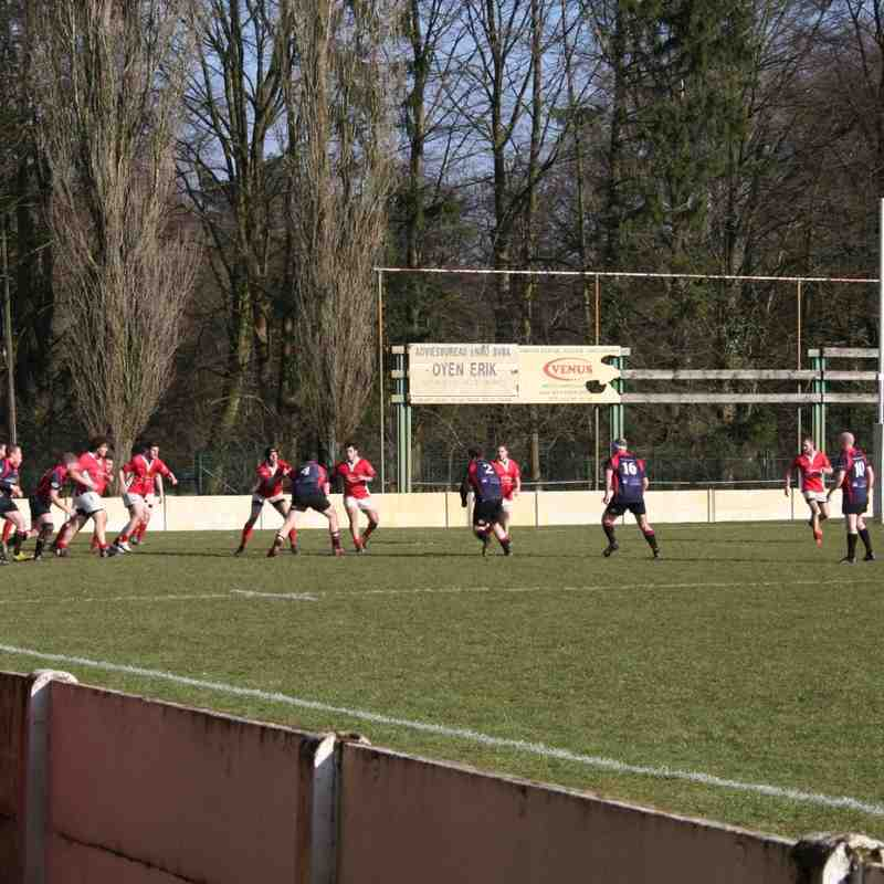 RC9 Senioren vs RRC Pajot: 7 - 36 (13-03-2016)