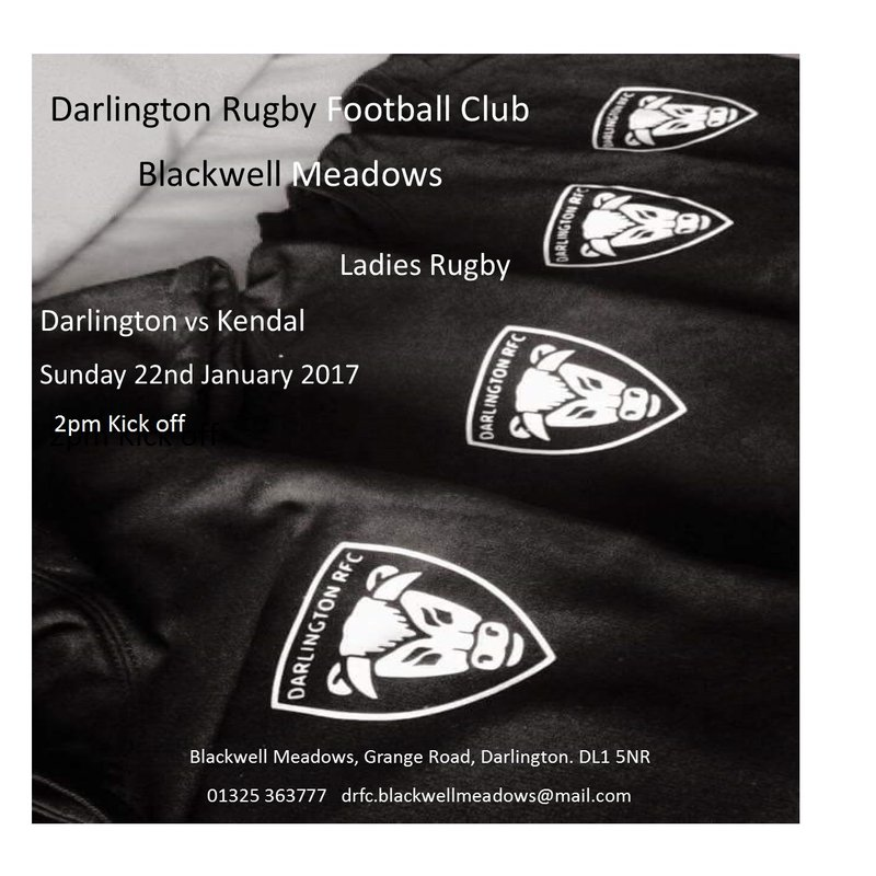 Darlington Ladies Vs Kendal Ladies