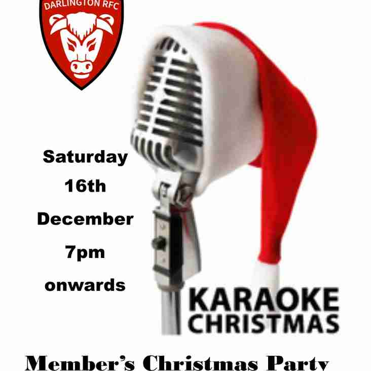 Member's Christmas Karaoke