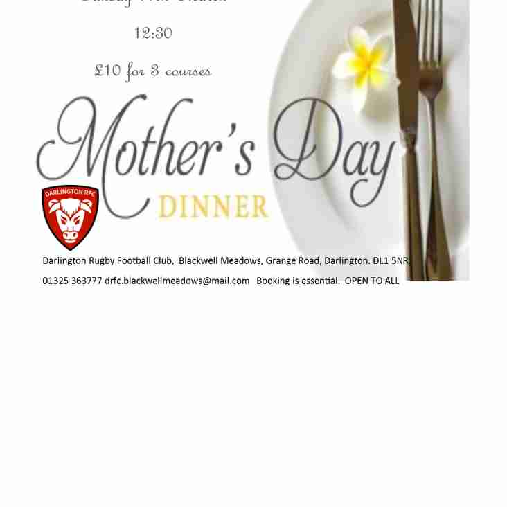 Mother's Day Ketton Lunch