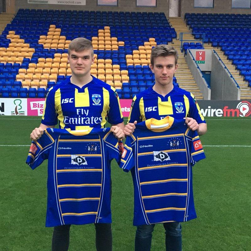Crosfields duo sign for Warrington U19's