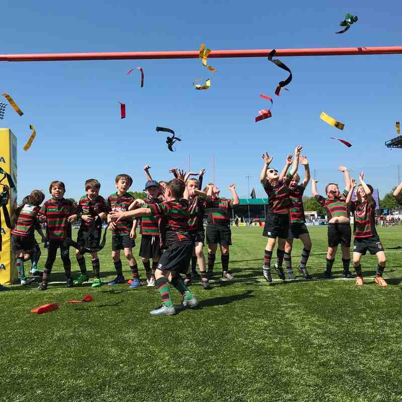 Fullerians Mighty U8s Final Tag Festival Saracens V Gloucester 06.05.2018
