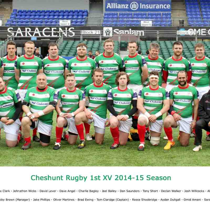 1st XV 2014-15 Final