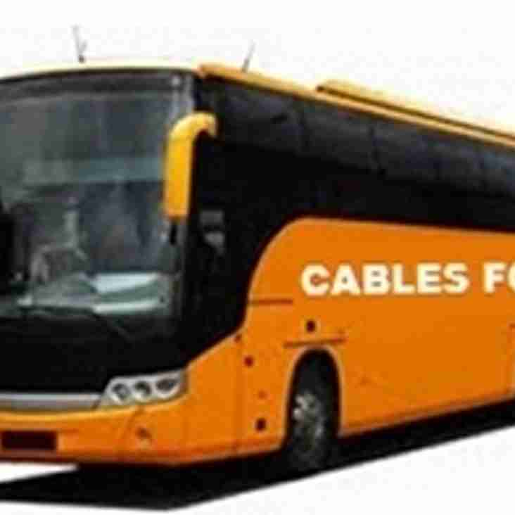 Supporters Coach to Away Matches