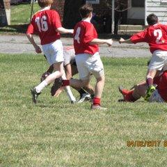 U15 vs Berks 4-2-17