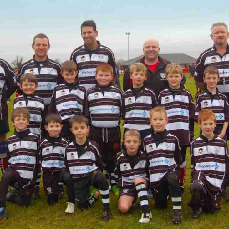 Chippenham U8 Chiefs warm up for festival with convincing wins in Swindon