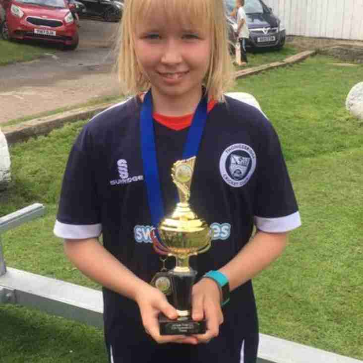 Emily Roberts Selected for Yorkshire Girls U11's