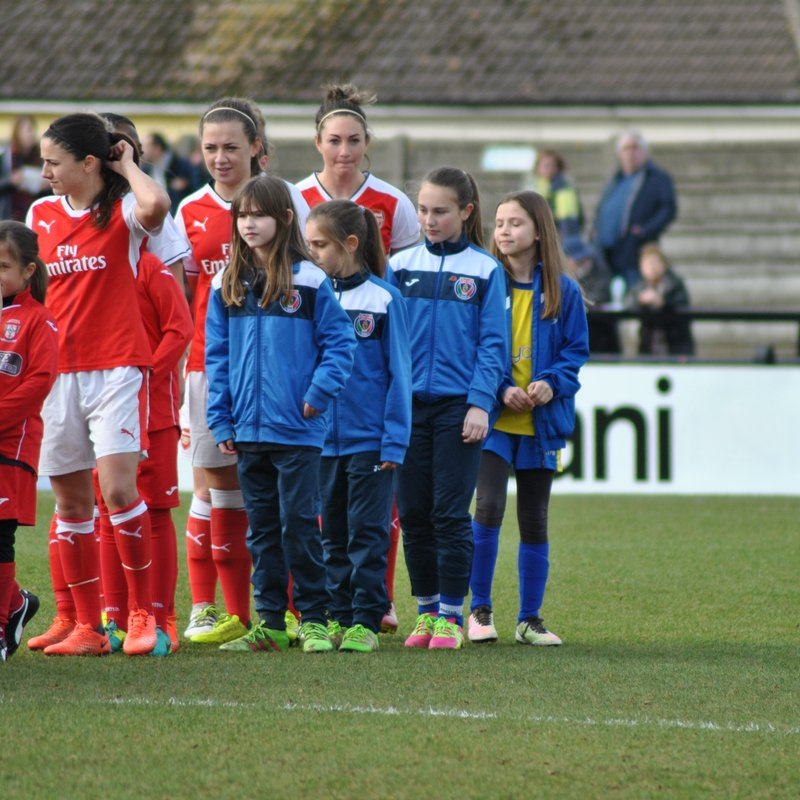 Arsenal Ladies Matchday Experience