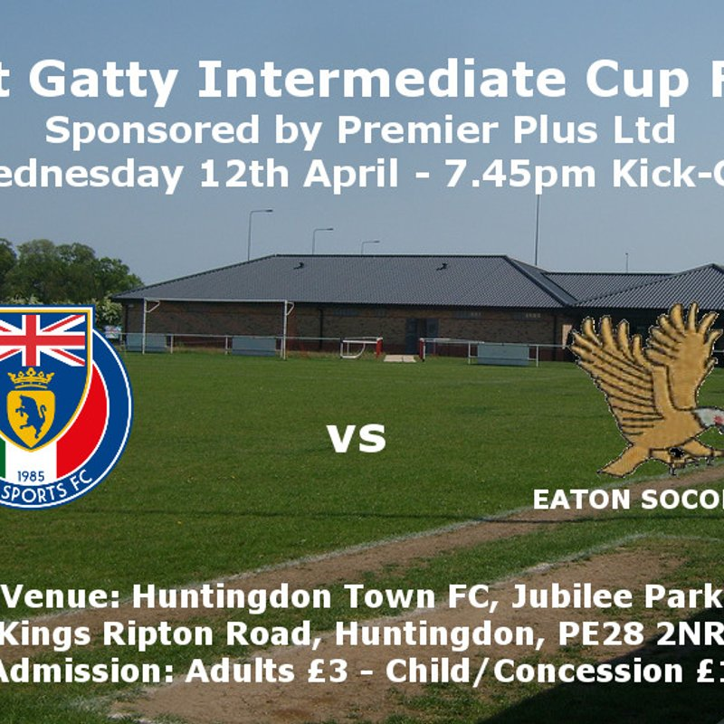 Scott Gatty Intermediate Cup Final