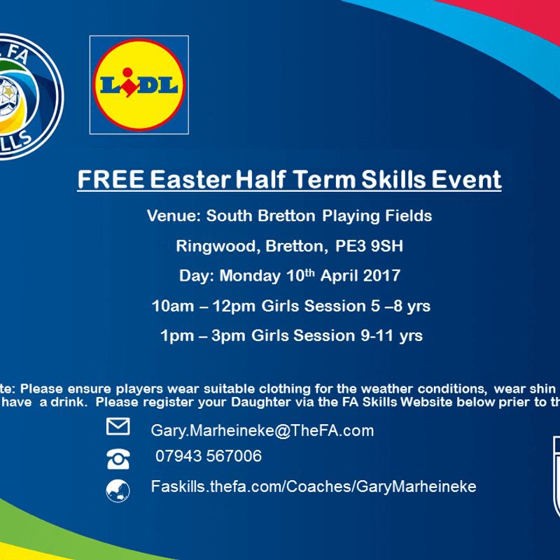 FA Skills Sessions - Girls