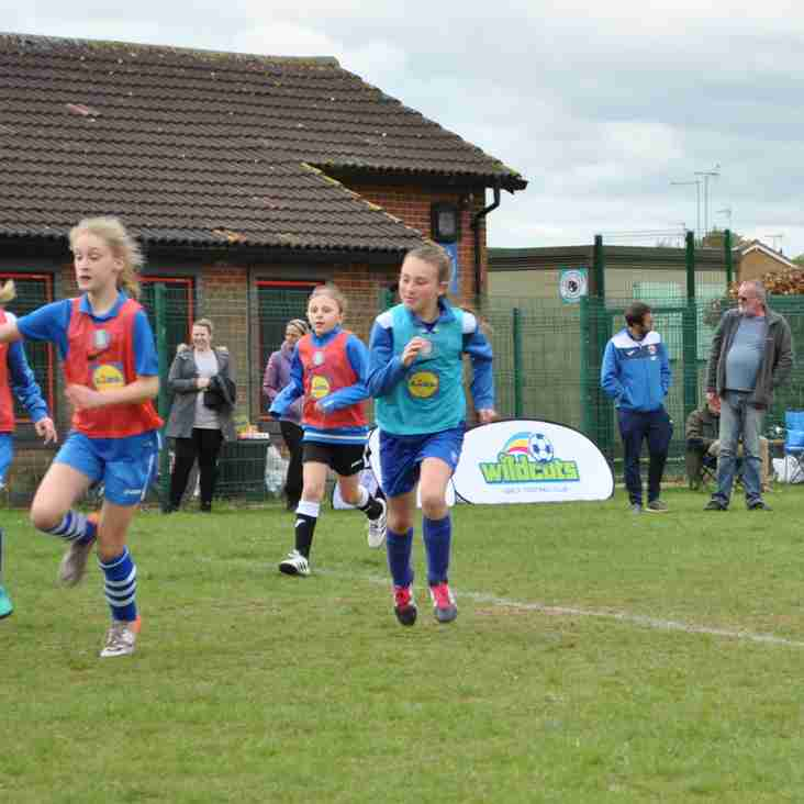 COME AND JOIN PETERBOROUGH'S MOST SUCCESSFUL FEMALE FOOTBALL PROVIDER