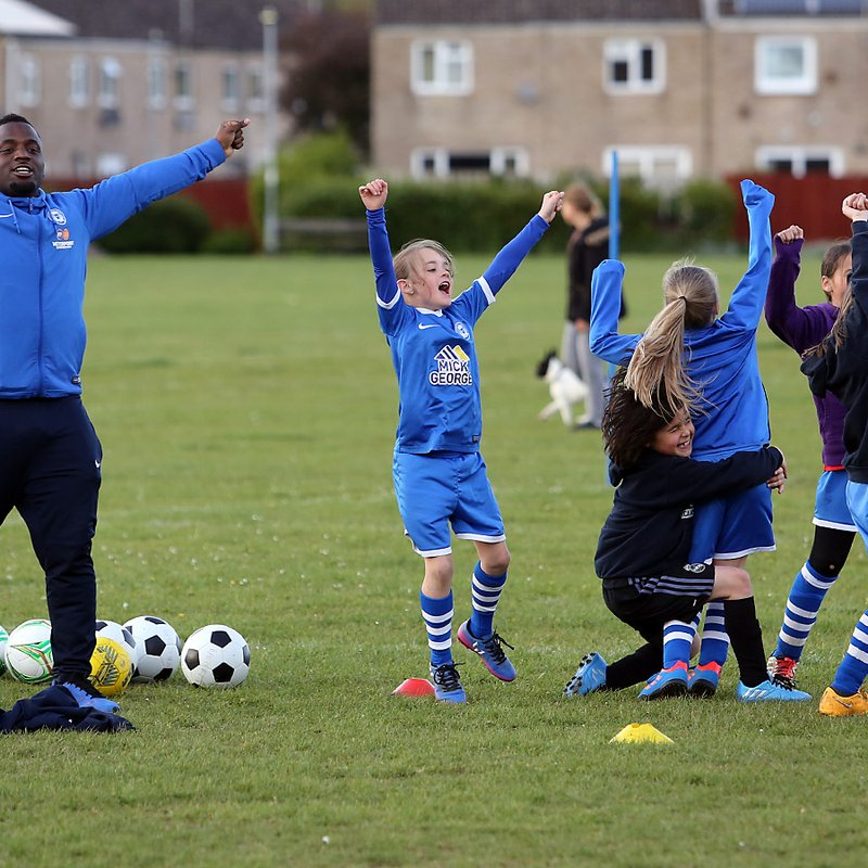 FUTURE LIONESSES TO ROAR AGAIN - GIRLS ONLY FOOTBALL