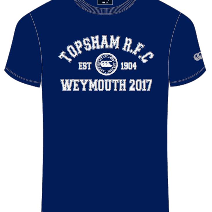 Weymouth festival t-shirts