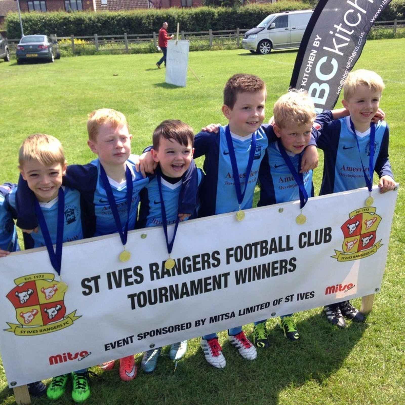 The 1st St Ives Rangers FC Tournament