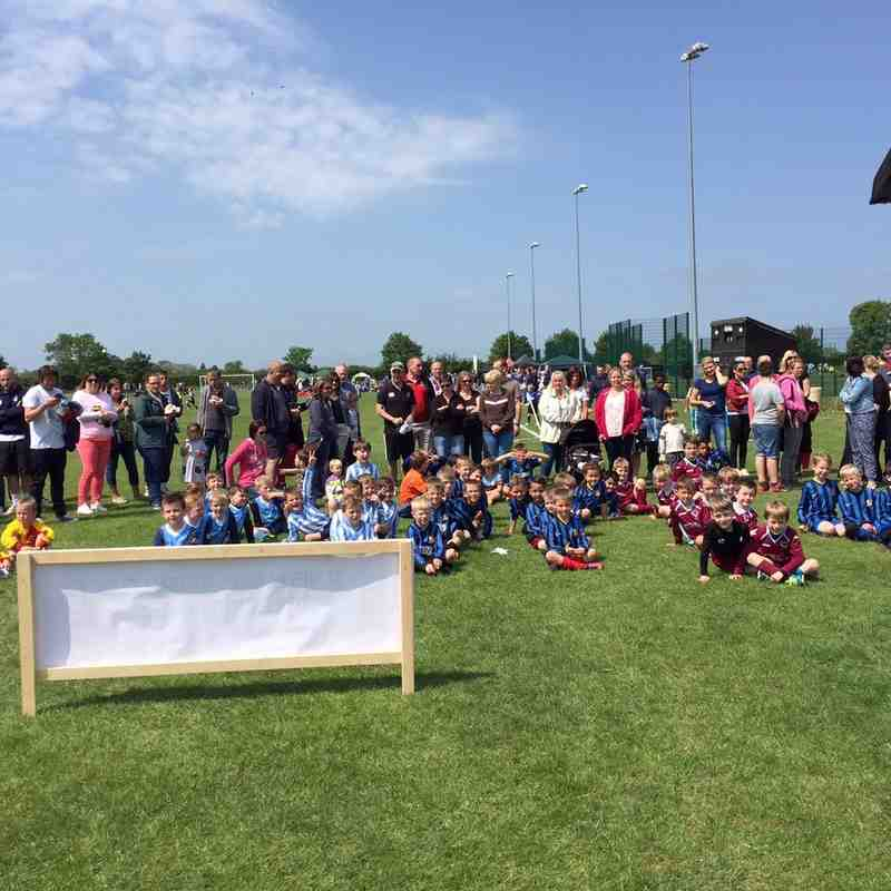 U7 teams took part in a round robin style festival. They were all winners.