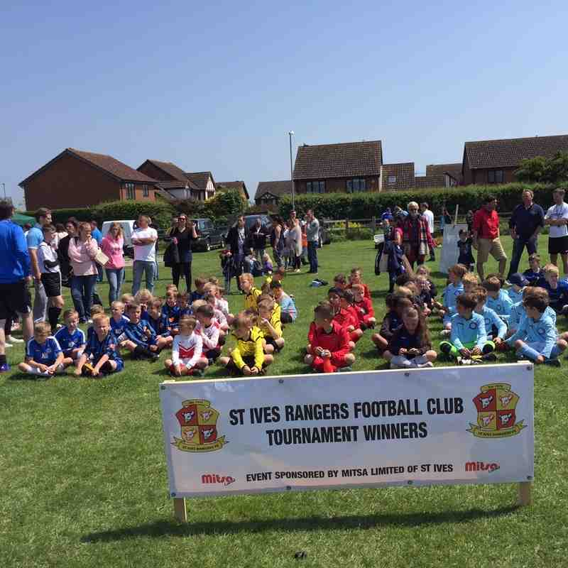 Under 8's took part in a round robin style festival. They were all winners.