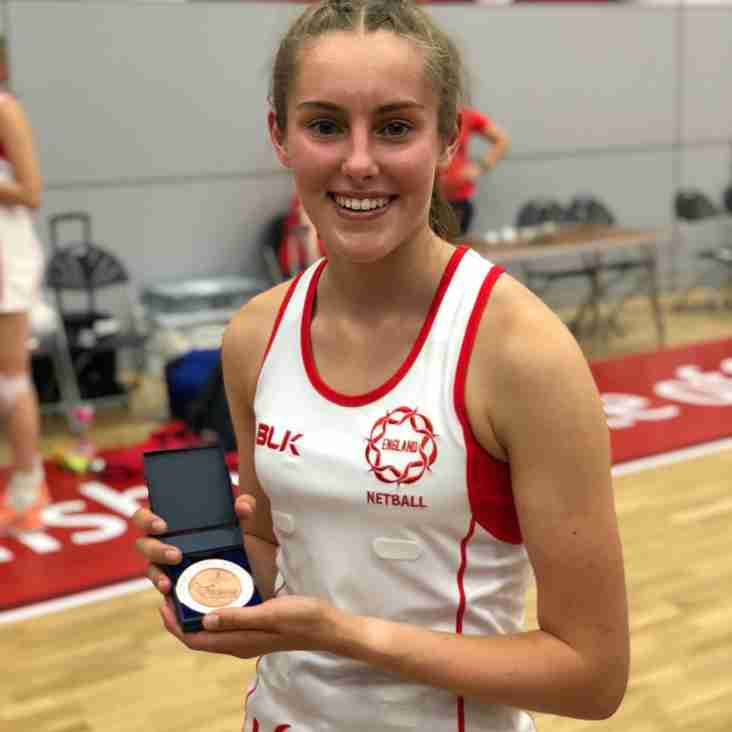 Congratulations to Suzie on your first U17 England Cap