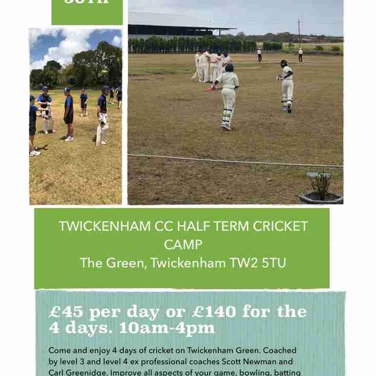Half-term coaching camp on Twickenham Green