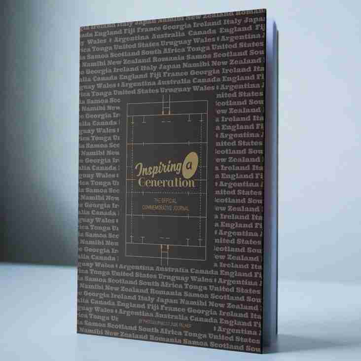 RWC2015 Commemorative Book 'Inspiring a Generation'